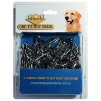 Dog Tie-Out Nickle Plated Chain (Prestige Pet) -  3.8mm x 4.5 Meters