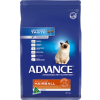 Advance Adult Cat Hairball - Chicken - 3 kg
