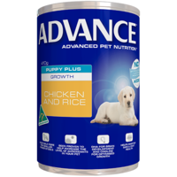 Advance Puppy Plus Growth Chicken and Rice - Wet - 410g