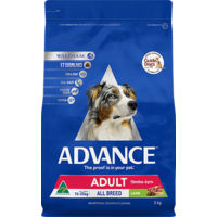 Advance Adult Total Wellbeing All Breed - Lamb & Rice - 3kg