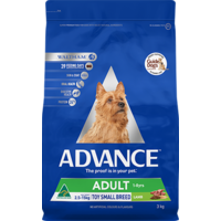 Advance Adult Dog Toy/Small Breed - Lamb & Rice - 3kg