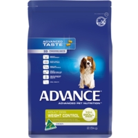 Advance Weight Control - Toy/Small Breed - 2.5kg