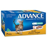 Advance Adult Cat Tender Chicken Delight- Wet - (7 x 85g)