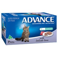 Advance Adult Cat with Delicate Tuna - Wet - (7 x 85g)