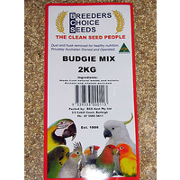 Budgie Mix 2 kg- Bird Seed - Breeders Choice