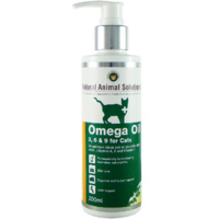 Omega 3, 6 & 9 Oil for Cats - 200ml - Natural Animal Solutions
