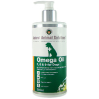 Omega 3, 6 & 9 Oil for Dogs - 500ml - Natural Animal Solutions