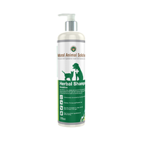 Herbal Pet Shampoo for Sensitive Skin - 375ml - Natural Animal Solutions