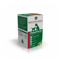 OsteoForte for Dogs & Cats - 60 caps - Natural Animal Solutions