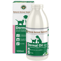 Dermal Oil for dogs, cats & horses - 100ml - Natural Animal Solutions