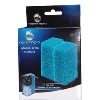 Sponges for Aquatopia Internal Filter 400 & 600 - 2 pack
