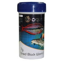 Aquatopia Dried Black Worm Cubes - 7g