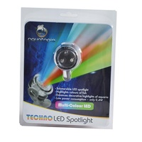 Aquatopia LED Spotlight - Techno (Multi-Colour)