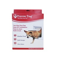 Premier Pet Dog Door 2 Way Lock - Small Dogs (29cm x 25cm)
