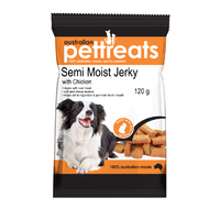 Semi Moist Jerky with Chicken - 120g