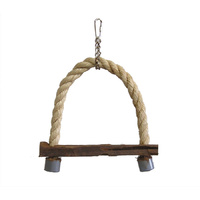 Sisal Swing Bird Toy