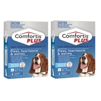 Comfortis PLUS for Dogs 18.1-27 kgs - 12 Pack - Blue