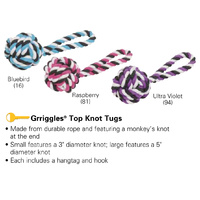 Grriggles Top Knot Dog Tugs - Small