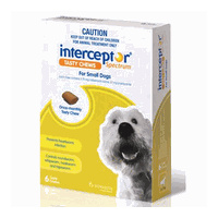 Interceptor Spectrum for Small Dogs 4-11 kgs - 12 Pack - Green