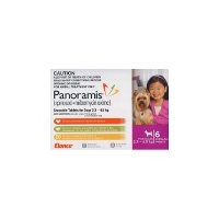 Panoramis for Dogs 2.3-4.5 kgs - 12 Pack - Pink