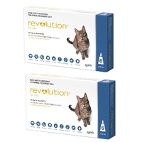 Revolution for Cats 2.6-7.5 kgs - 12 Pack - Blue