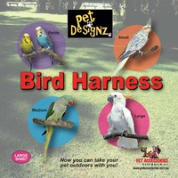 Bird Harness - Medium (Alexandrine Size)