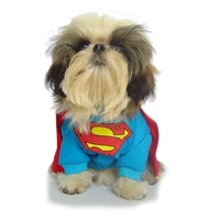 Superman Pet Costume for Dogs