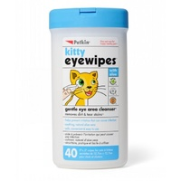 Petkin Kitty Eye Wipes for Kittens - 40 Pack