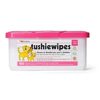 Petkin Pet Tushie Wipes - 100 Pack