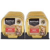 Black Hawk Grain Free Adult Dog Can - Beef - 12 x 100g (Box)