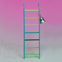 Plastic Ladder with Bell for Birds