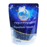 Aquatopia Coloured Gravel - 450g - Black