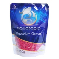 Aquatopia Coloured Gravel - 450g - Red