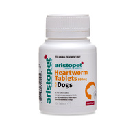 Heartworm Tablets for Dogs 200mg (Aristopet) - 100 Tablets