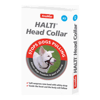 Halti Head Collar X-Large Dogs - Black