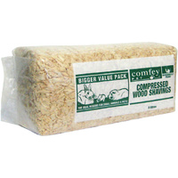 Comfey Compressed Wood Shavings Small Animal Bedding - 5L