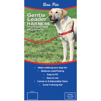 Gentle Leader Easy Walk Dog Harness - Medium/Large - Red