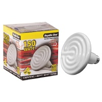Reptile One Ceramic Heat Lamp (150 Watt) Eddison Screw Fitting
