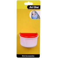 Avi One Plastic D Bird Feeder - 2 Pack - Small (7.1cm & 7.5cm)