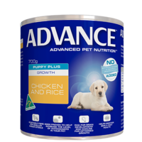 Advance Puppy Plus Growth Chicken and Rice - Wet - 700g