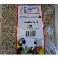 Canary Mix 2 kg- Bird Seed - Breeders Choice