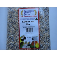Parrot Mix 2 kg- Bird Seed - Breeders Choice