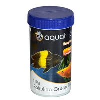Aquatopia Spirulina Green Flake - 110g