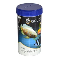 Aquatopia Large Fish Sticks - 210g