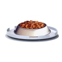 Ant Proof Plate for Dog & Cat Food Bowl - Round
