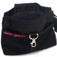 Black Dog Treat Pouch - Black
